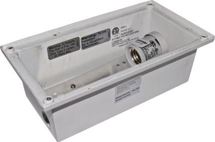 Dsl1000 step lights landscape lighting line voltage for Line voltage outdoor lighting